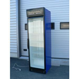 Myydään käytetty kylmäkaappi lasiovella Helkama C5G